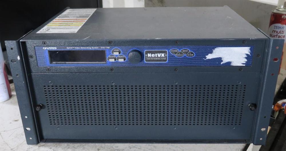 Harris Net VX HDSDI Encoder Unit  - Price Estimate: £ - £