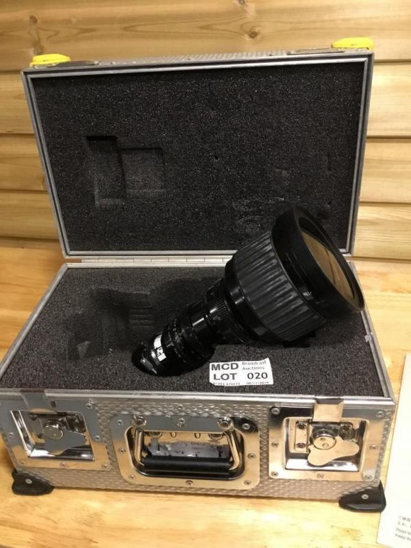 Canon HJ21 x 7 5 Cine style B4 Lens Reserve Price: £950 - Price